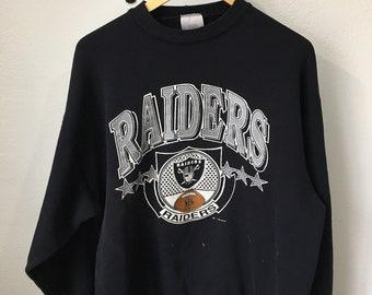 Vintage 1990 Los Angeles Raiders sweatshirt AS IS XL