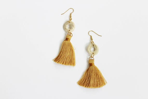 Antler & Bohemian Tassel Earrings