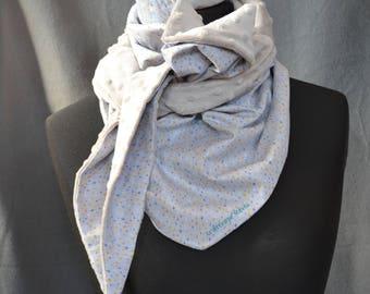 Soft grey scarf