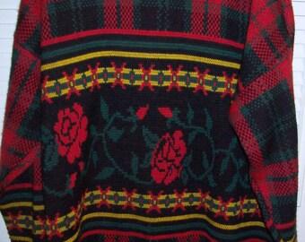 Sweater XXL , Vintage Scotland Pullover Sweater Versatile XXL   see details