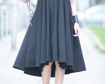Summer Dresses, Party Black Maxi Dress, Oversize Dress, Plus Size Dress, Loose Dress, Womens Dresses - DR0263PLV