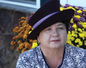 """Slouch """"Fall Queen""""-Felt Hat"""