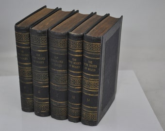 The Five Books of Moses - Vienna 1922 - Schlesigner - Minty!!