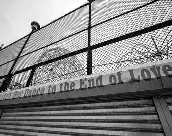 "Lonely Coney Island Series / Print III: An Archival Pigment Fine Art Print entitled ""Watch Her Dance to the End of Love"""