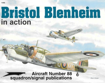Bristol Blenheim in Action - Aircraft No. 88 (Paperback)