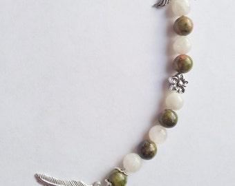 Goddess Ostara - Prayer Bead - Spring Equinox - Spring