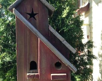 2 family birdhouse