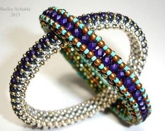 My Bangle Dangles Bracelet Tutorial - pdf Instructions ONLY