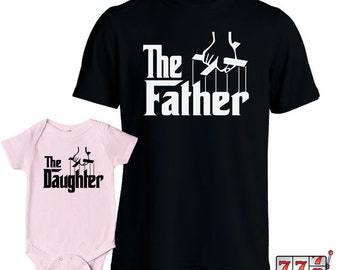 Matching Father Daughter Shirts Fathers Day T Shirt Daughter Baby Bodysuit Matching Family Shirts First Fathers Day Gift from Daughter MD430