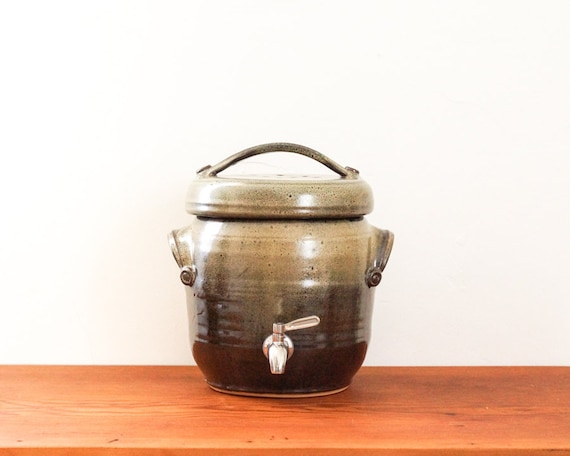Made To Order Small One Gallon Kombucha Fermentation Crock