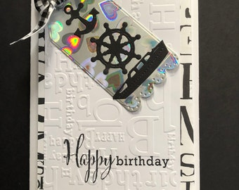 Boating Birthday Card