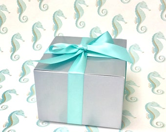 Gift Box with Hand-Written Enclosure Card