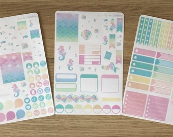 Under the Sea Weekly Kit - for use with Erin Condren LIFEPLANNER(TM)