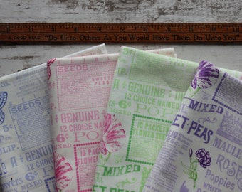 Sausalito Cottage Fabric by Holly Holderman for LakeHouse Dry Goods Half Yard Bundle