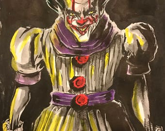 Inktober 2017 Joker IT