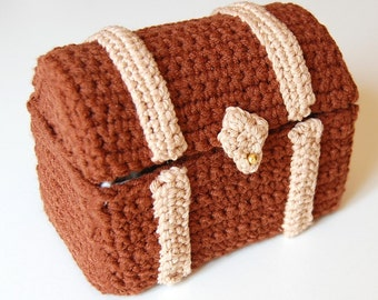 crochet pattern - toy chest
