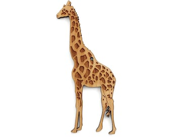 Giraffe Ornament - Timber Green Woods. Sustainable Harvest Wood. Made in the USA!