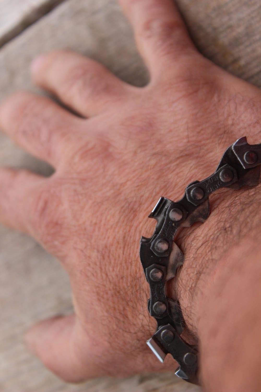 Chainsaw Bracelet Lumberjack Gift Industrial Bracelet