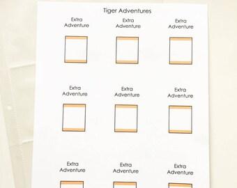Extra Tiger Adventure Cards