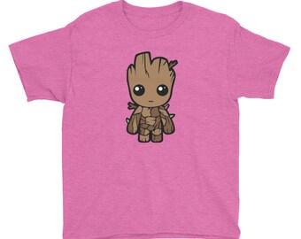 Baby Tree Root Youth Short Sleeve T-Shirt