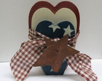 Americana Trio of Hearts Country Style Set