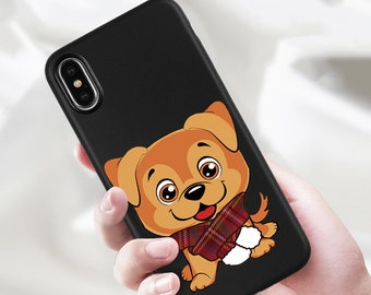 iPhone X Case iPhone 8 Case  iPhone 8 Plus Case iPhone 7 Plus Case  iPhone 7 puppy
