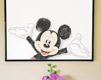 Mickey Mouse Art Print