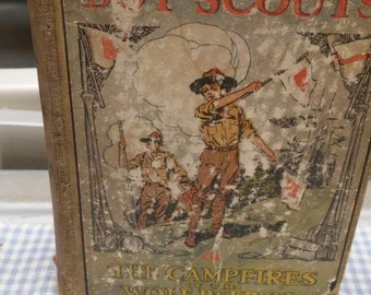 Hickory Ridge Boy Scouts The Campfires of Wolf Patrol Vintage Storybook
