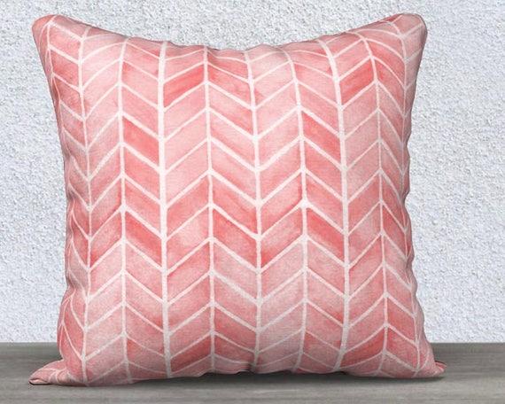 Blush Arrow Pillow Cover, 14x20, 18x18