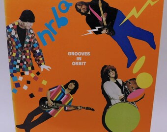NRBQ Grooves in Orbit - Vintage Vinyl Record Album lp R&B Soul Rock Music 1983 Bearsville 1-23817 EX/NM