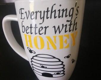 Beekeepers coffee cup