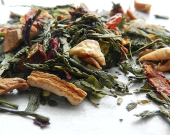 Watermelon Tea - Refreshing Tea - Green Tea - Watermelon and Cucumber Tea - Artisan Tea - Healthy Tea - Antioxidants - Skin Tea - Market Tea