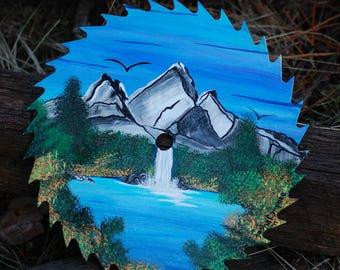 Mountain Waterfall #011