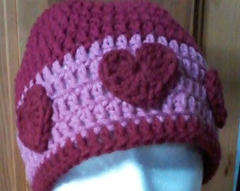 Heart Hat Adult Size