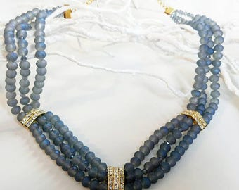 Grace Kelly MULTISTRAND necklace