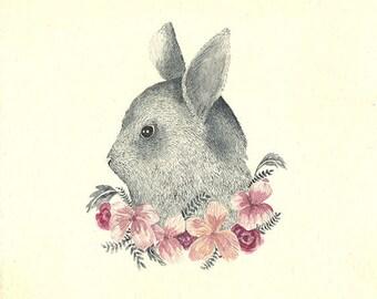 To bloom II Giclee print,  fine art