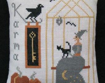 Primitive Cross Stitch Sampler pattern KARMA pdf