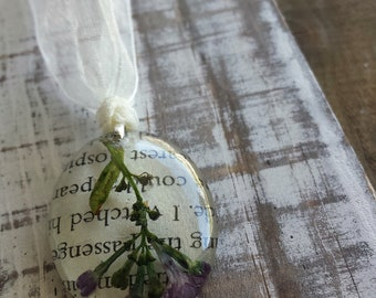 Early Lilac Blossom Bookmark