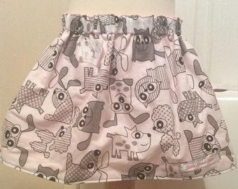 Reversible  summer skirts