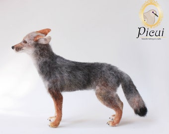 Made to order - OOAK Artist Doll - Needle Felted Fox