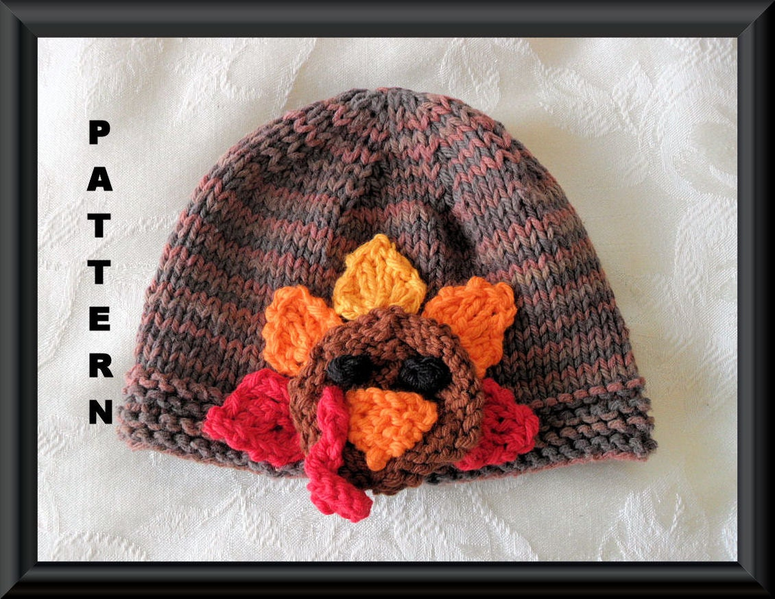 Knitted Hat Pattern Baby Hat Pattern Instant Download Hat