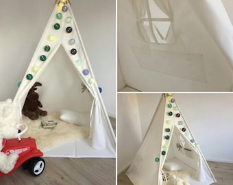 Play tent tipi Goggly complete set