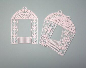 3 Gazebos/Die Cuts/Embellishments/Paper Cuts/Scrapbooking/Card Making/Yard/Wedding
