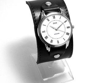 PrideAndBright Retromatic wide cuff fashion quartz watches japan movt and vintage style design   Unusual vintage style cuff watches quartz