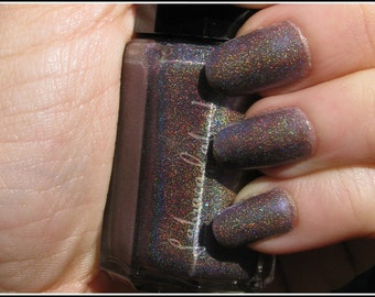 Supernova -  Labracadabra Purple Holographic Nail Polish