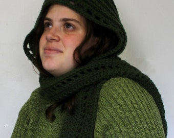 Women's Fashionable Hooded Scarf