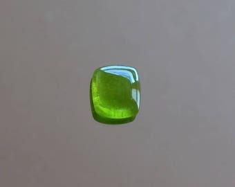 Loose Peridot gemstone cabochon Natural peridot loose stone for jewelry Peridot cushion