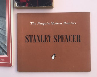 Vintage Stanley Spencer, Eric Newton, from The Penguin Modern Painters Series, First Edition 1947
