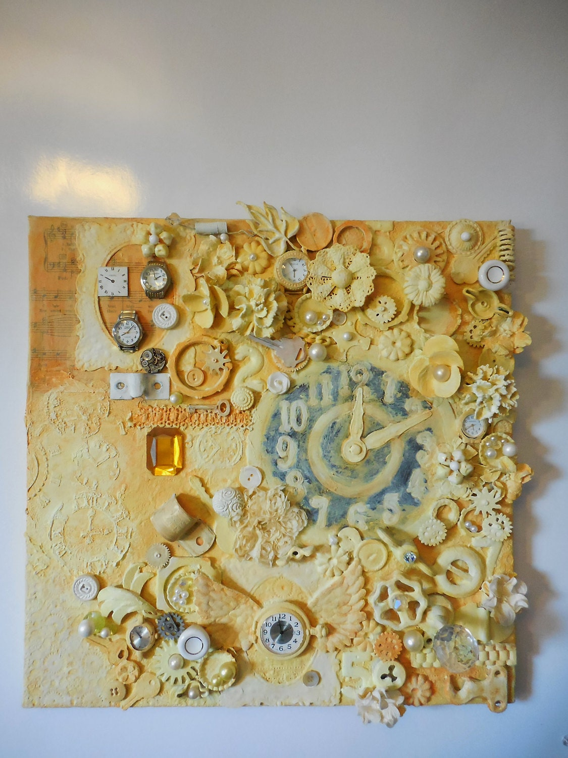 Exelent Mixed Media Wall Decor Composition - Wall Art Collections ...