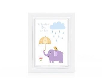 A Beautiful Day to Rain